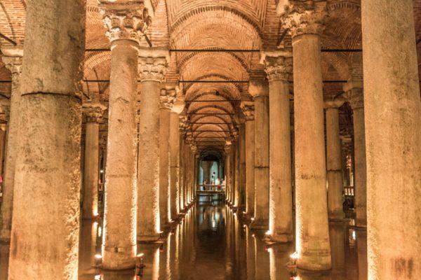 イスタンブール地下宮殿