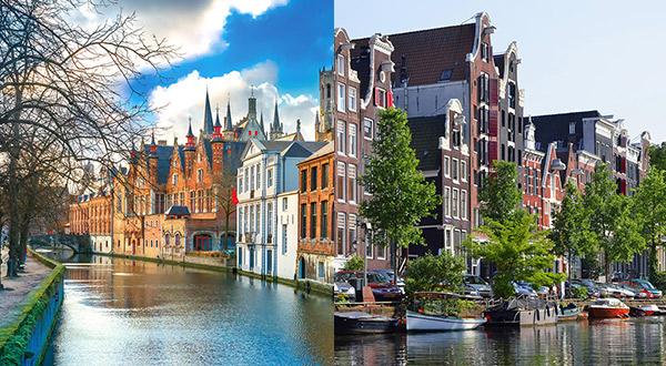 ヨーロッパお試しクルーズ オランダ・ベルギー・フランス