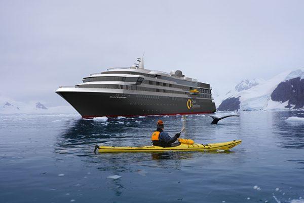 世界最高級の探検客船