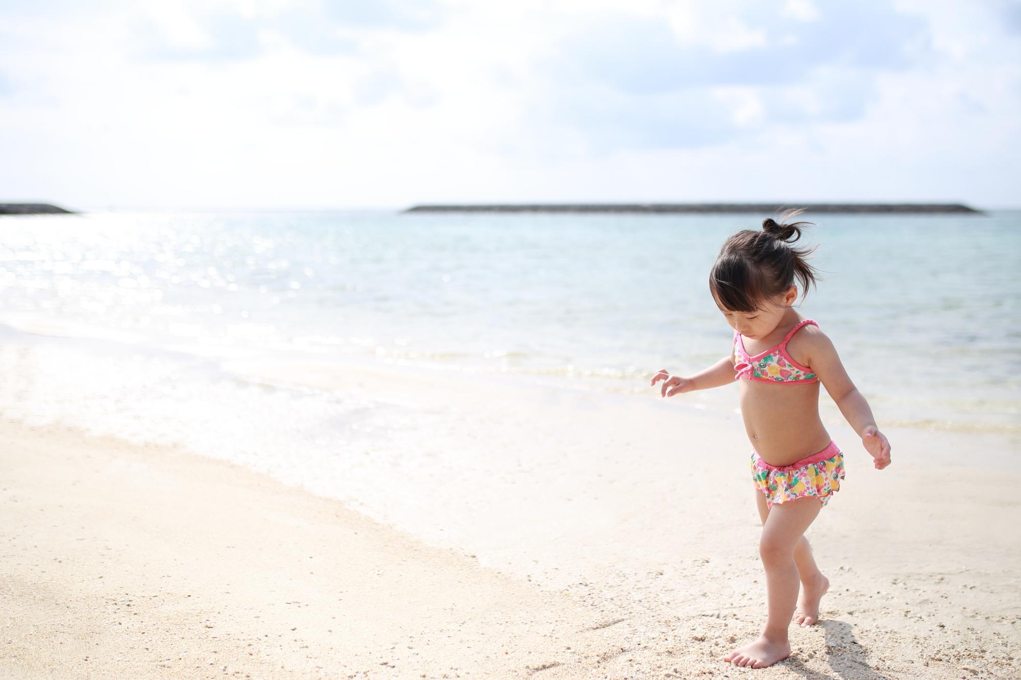 子ども ビーチ
