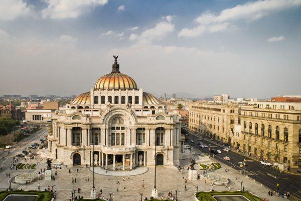 メキシコシティ中心部