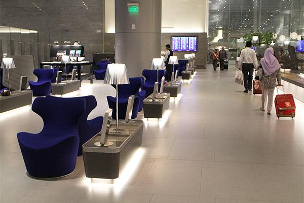 まるで5つ星ホテル!ドーハの「アル・ムルジャン ビジネスラウンジ」