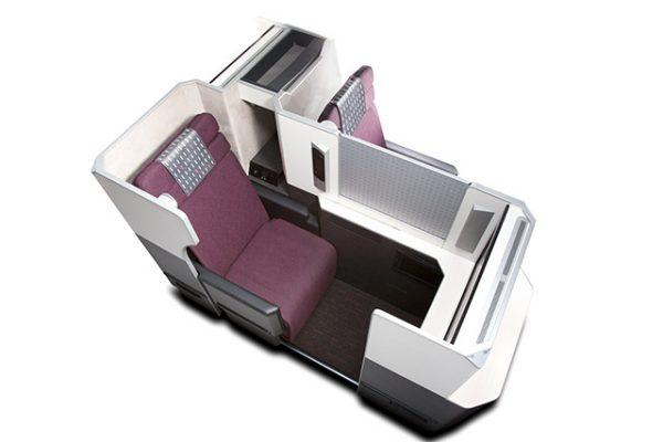 長距離路線こそ機内で快適に過ごせるビジネスクラス