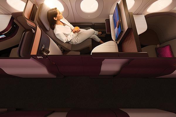 まるで個室!カタール航空の最新ビジネスクラス「Q suite」が凄い!