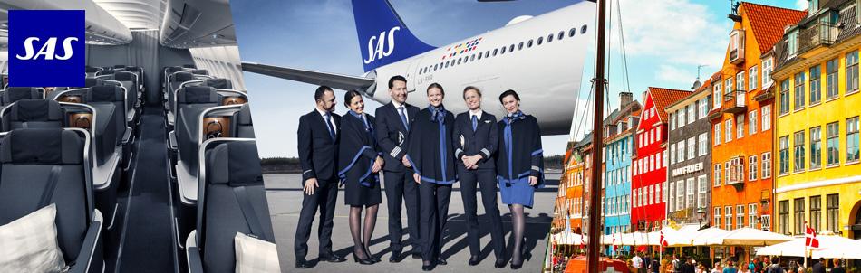北欧の翼 スカンジナビア航空ビジネスクラスで行くヨーロッパ旅行