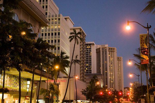 クルーズとお買い物が両方楽しめるハワイ