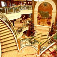豪華客船「クイーン・ヴィクトリア」 乗船記1 ~客室、リド・レストランの様子~
