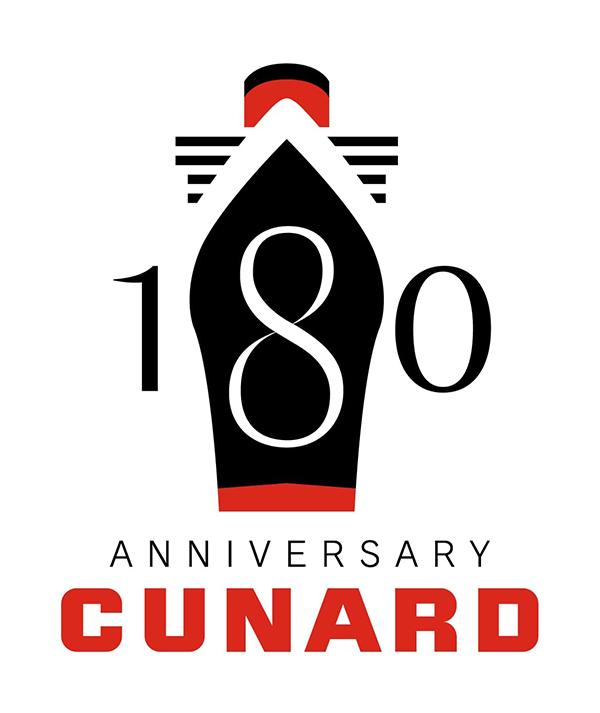 2020年、キュナード・ラインは創立180周年を迎えます。
