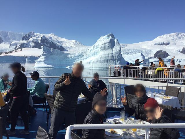 オーシャン・エンデバー南極探検 南極で格別の味!
