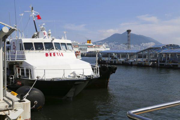 船でもアクセス可能の近場