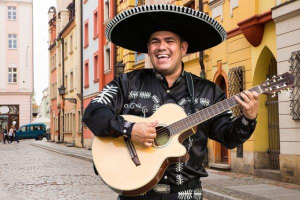 陽気で楽しいメキシコ人