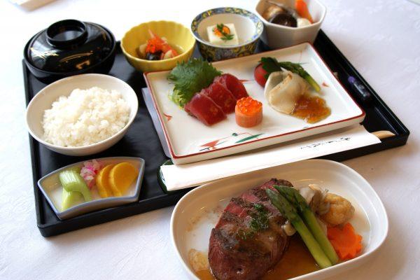 エアロメヒコ航空・ビジネスクラス機内食