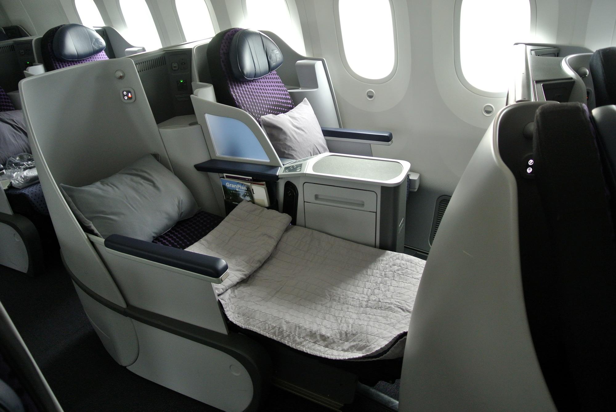 エアロメヒコ航空・ビジネスクラスシート