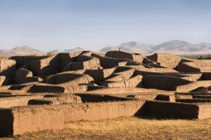 カサス・グランデスのパキメ遺跡地帯