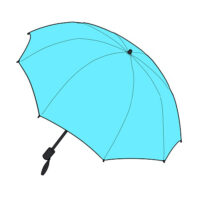 登山・トレッキングで傘をさすのはNG?