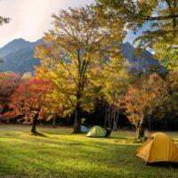 テントで泊まる!上高地と紅葉の涸沢カールトレッキング